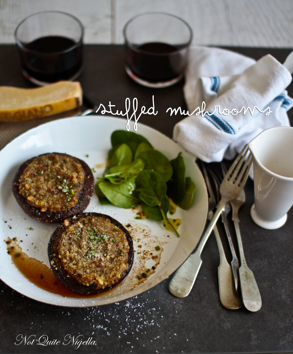 Easy Stuffed Mushrooms recipe gluten free