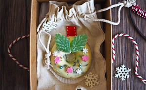 12 Inspired Edible Christmas Ideas Plus Rocky Road Wreaths!