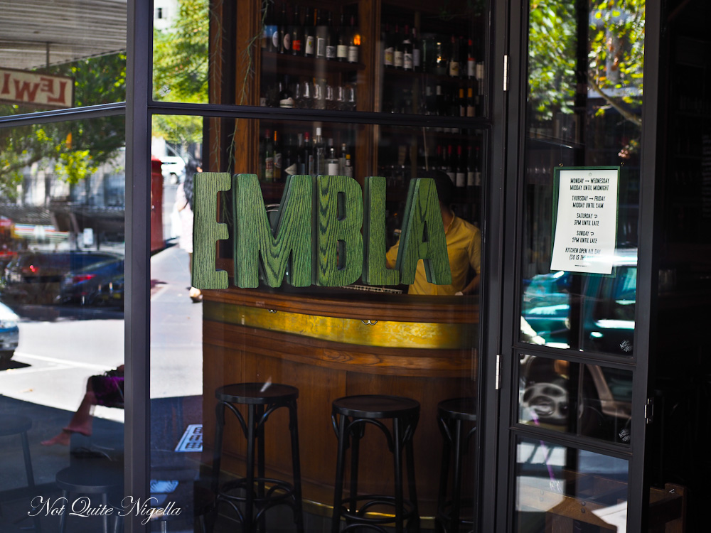 Embla Wine Bar Melbourne