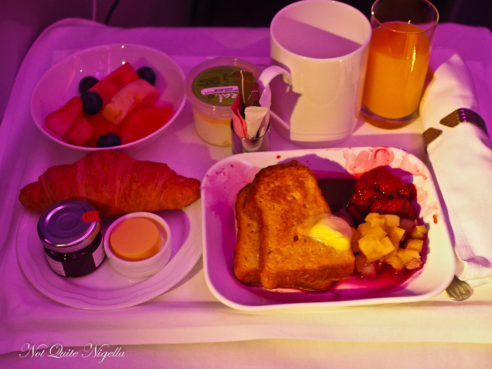 Emirates Business Class Flight Review