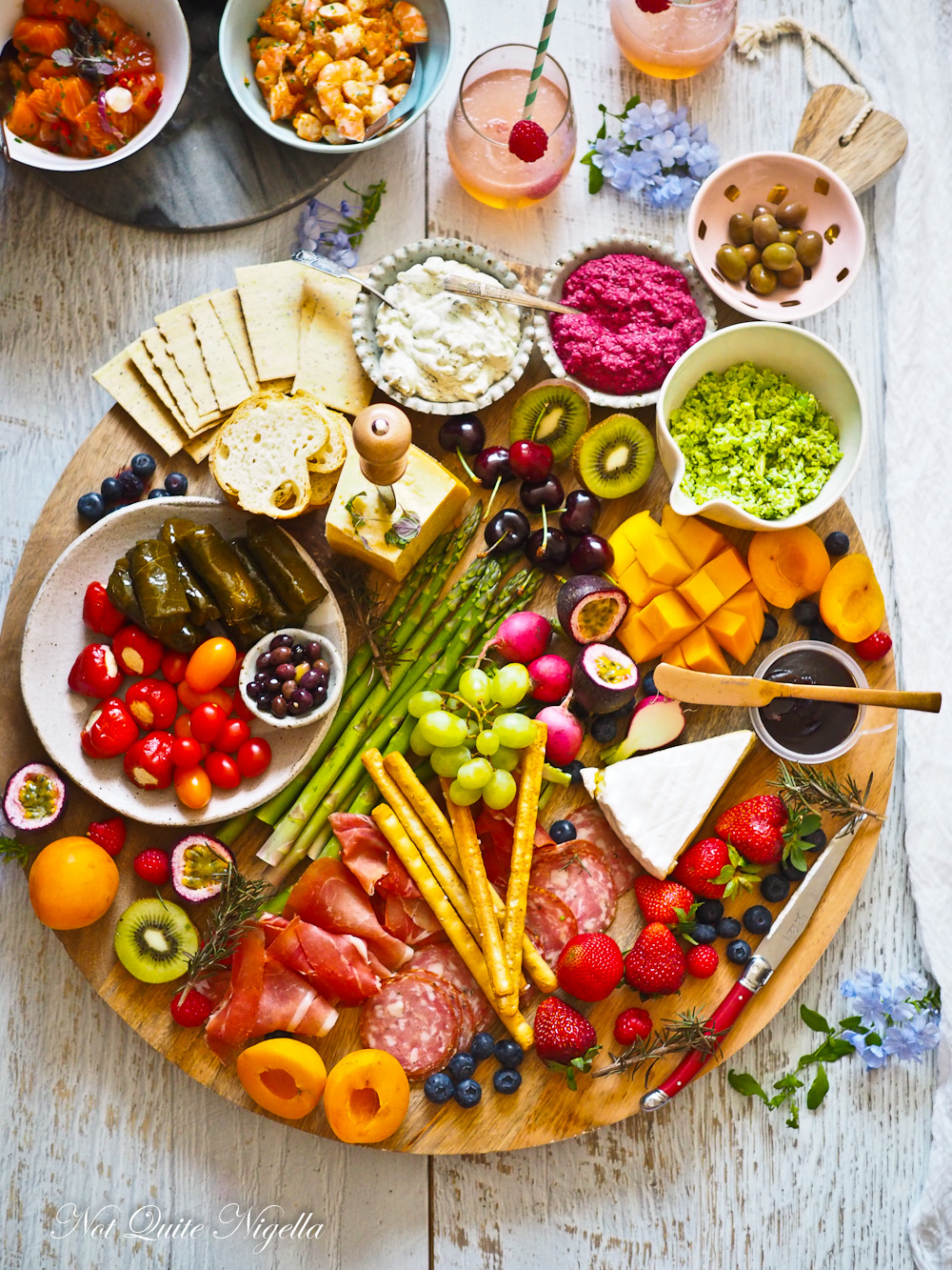 Healthy Party Entertaining Food