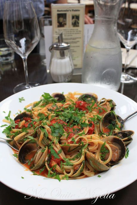 wellington, new zealand, hutt valley, la bella italia, linguine