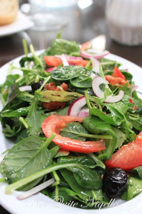 wellington, new zealand, hutt valley, la bella italia, salad