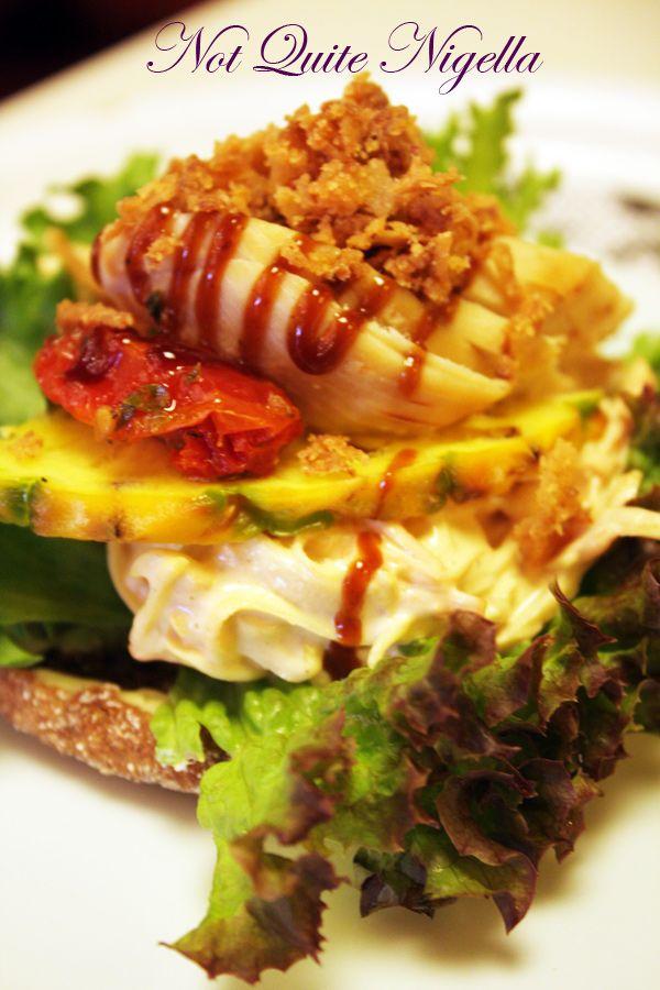 Fazer cafe Helsinki Finland chicken sandwich