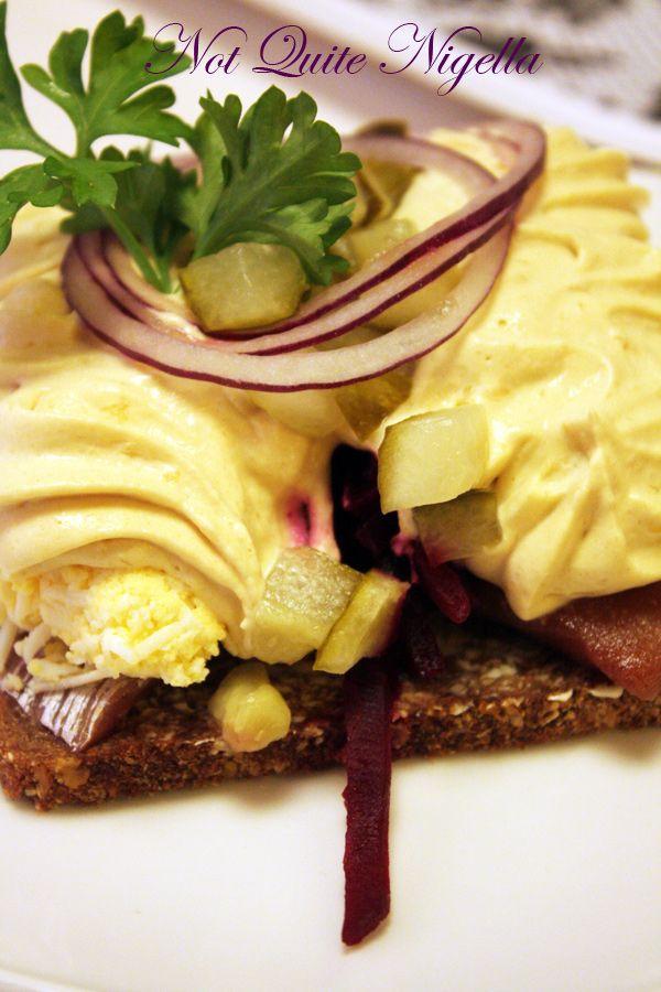 Fazer cafe Helsinki Finland russian sandwich