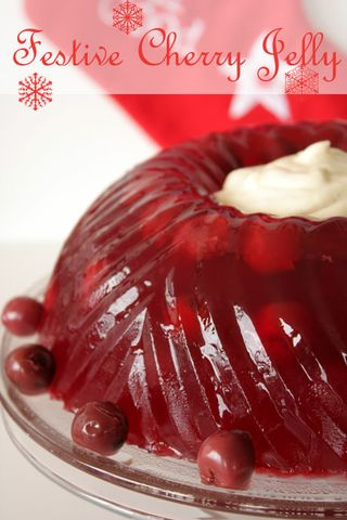 Festive Cherry Jelly