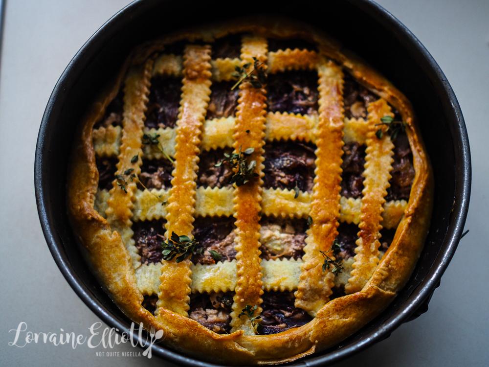 Feta & Onion Pie