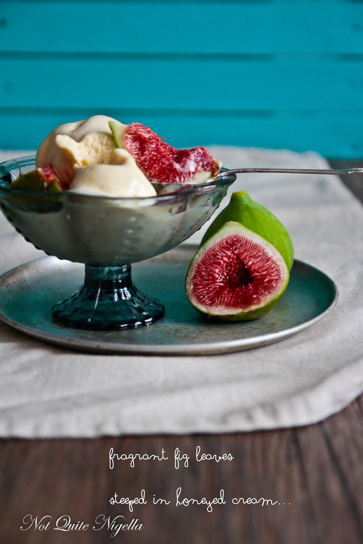 Fig Leaf Ice Cream
