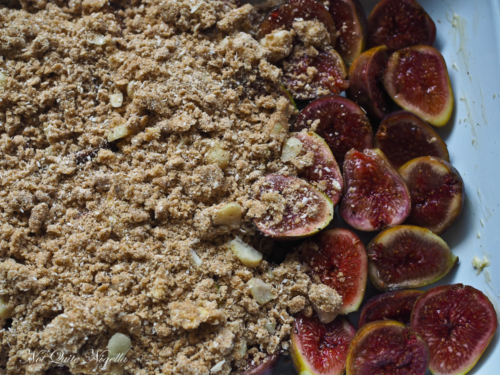 Fig And Rye Crumble