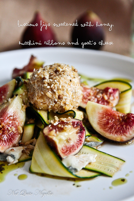 Zucchini Fig Salad