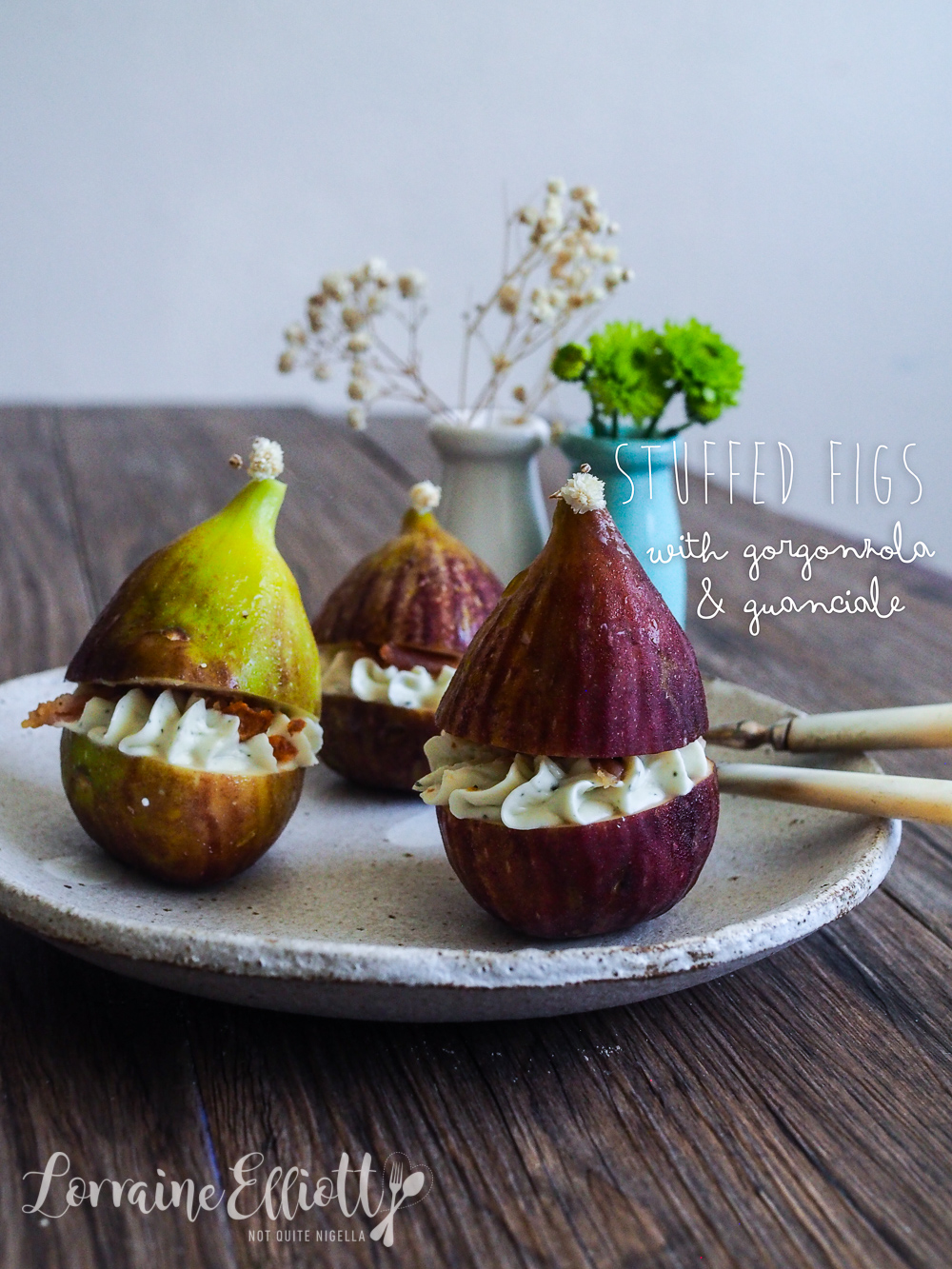 Figs Gorgonzola Guanciale