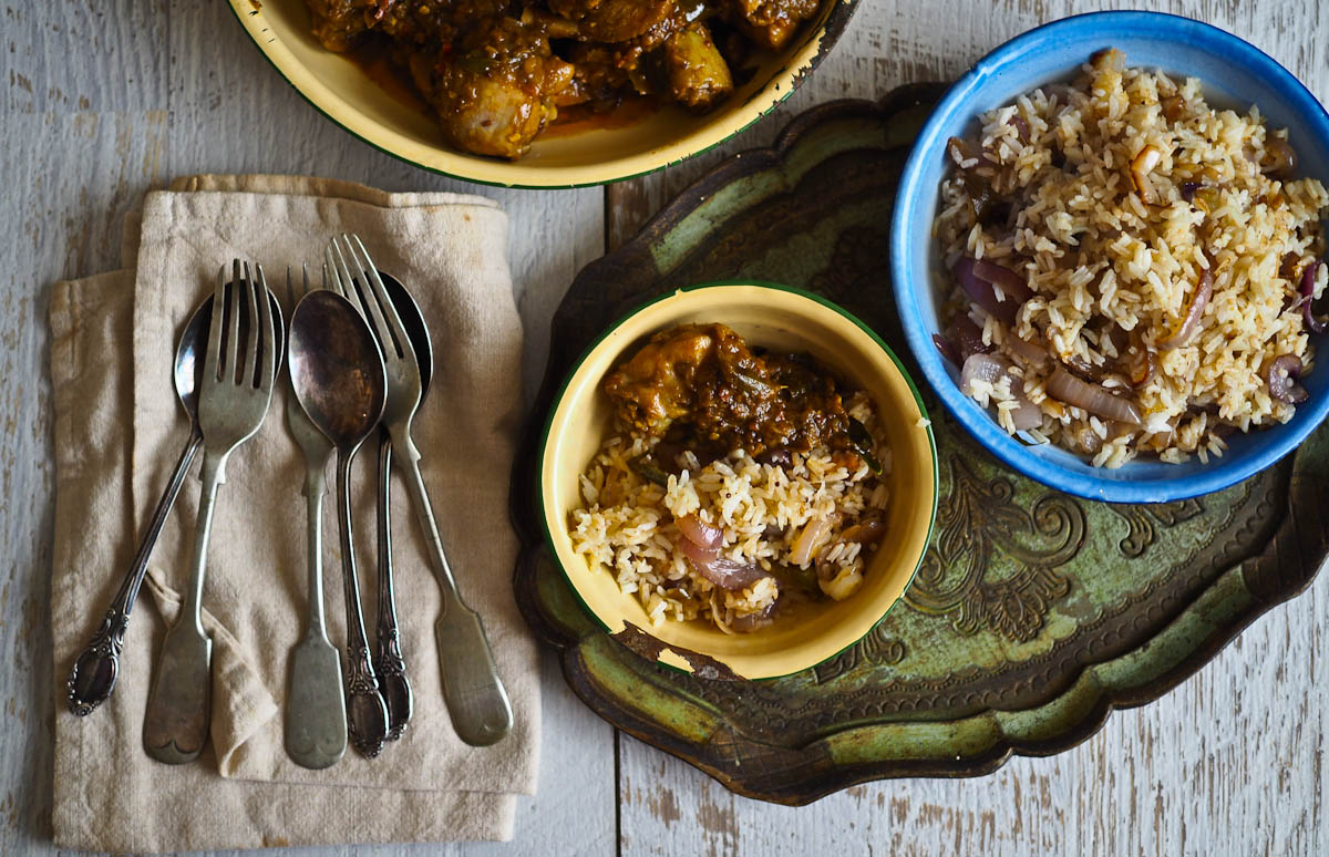 Fijian chicken curry and curry leaf rice not quite nigella forumfinder Images