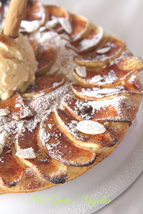 recipe apple tart with cinnamon ice cream not quite nigella. Black Bedroom Furniture Sets. Home Design Ideas