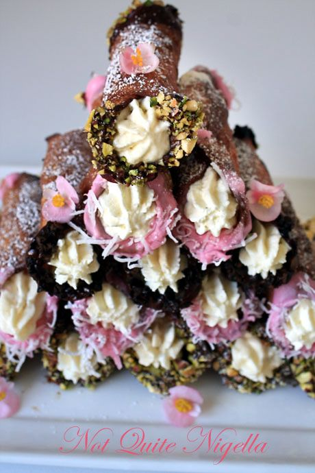 cannoli tower