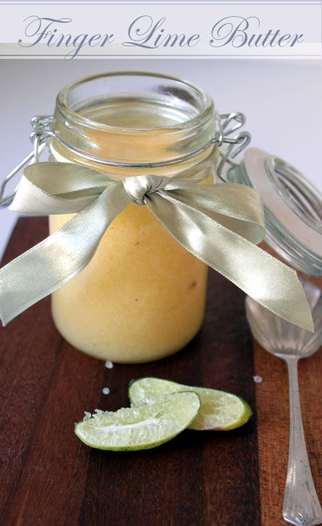 finger lime curd recipe