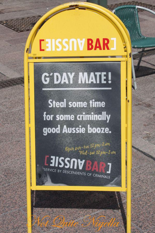 Helsinki aussie bar