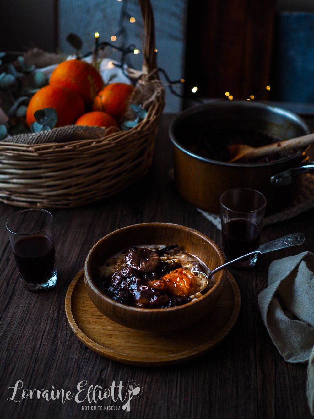 Finnish Christmas Mixed Fruit Soup & Rice Pudding