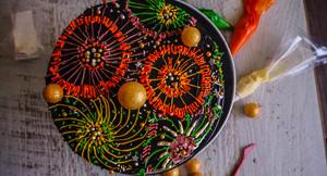 """Fireworks"" Vasilopita New Year's Day Cake!"