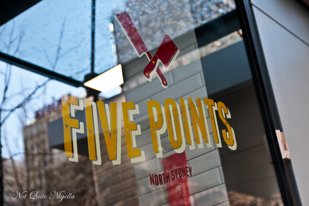 Five Points Burgers North Sydney