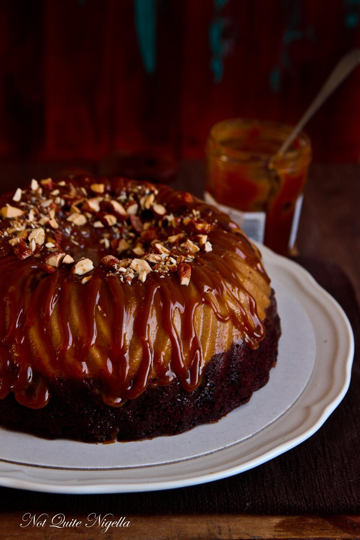 Flan Chocolate Cake