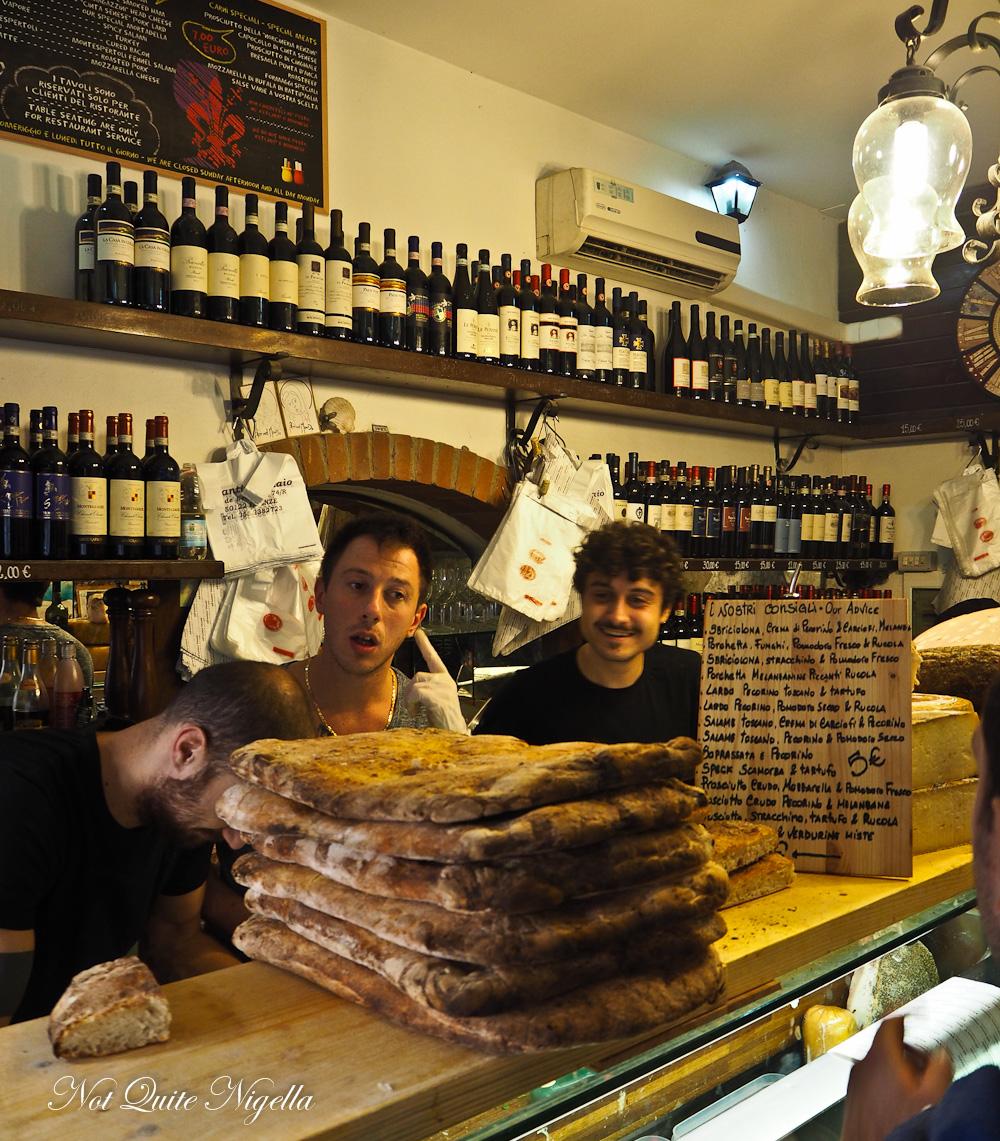 Florence Tuscany Food