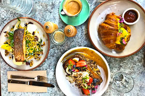 Love, Peace & Food at Flower Child, Chatswood