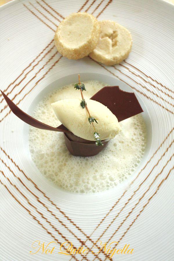Foliage at the Mandarin Oriental chocolate dessert