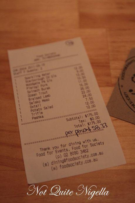 food society darlinghurst