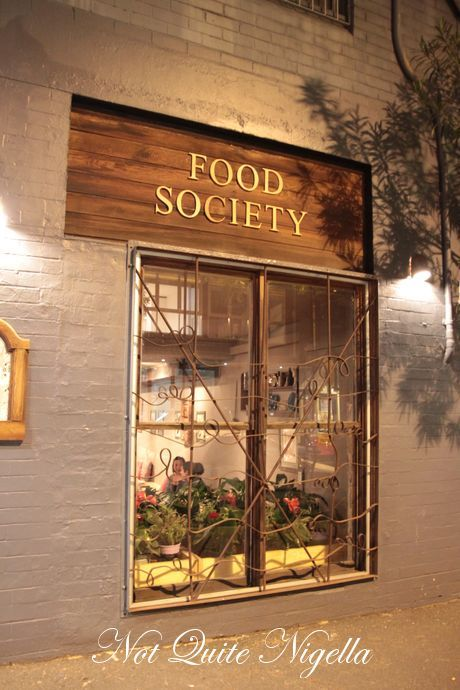 food society darlinghurst