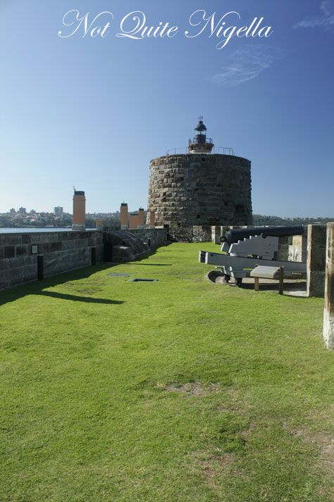 Fort Denison Restaurant, Sydney Harbour
