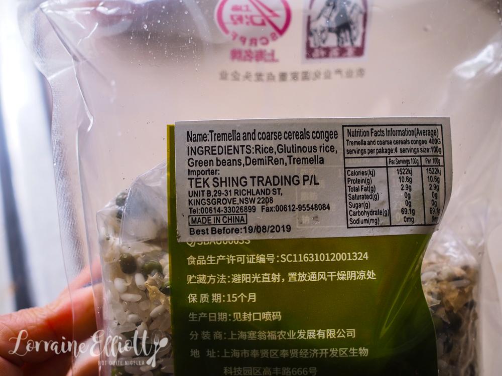 Four Grain Congee Rice Porridge