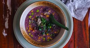 Wholesome Four Grain Congee Rice Porridge {Instant Pot}