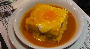 Franceschina, Porto's Famous Sandwich