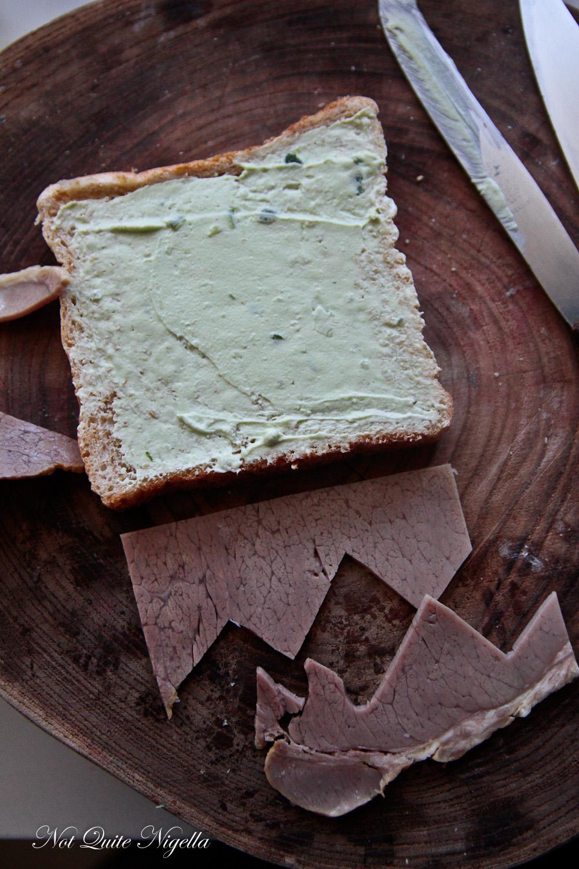 Frankenstein Sandwiches