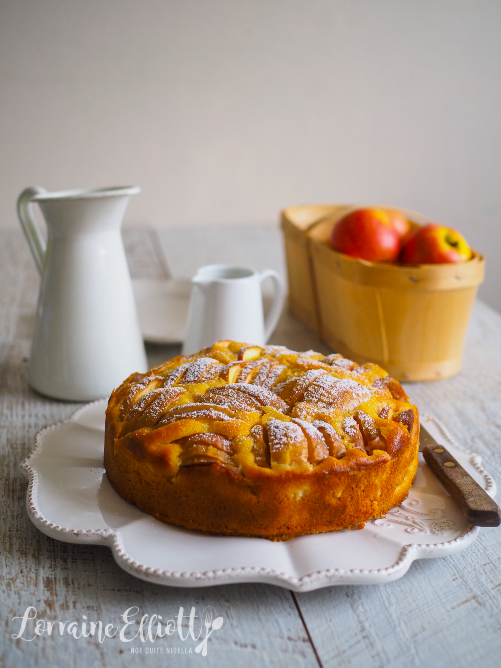 Apple Cake French Normandy