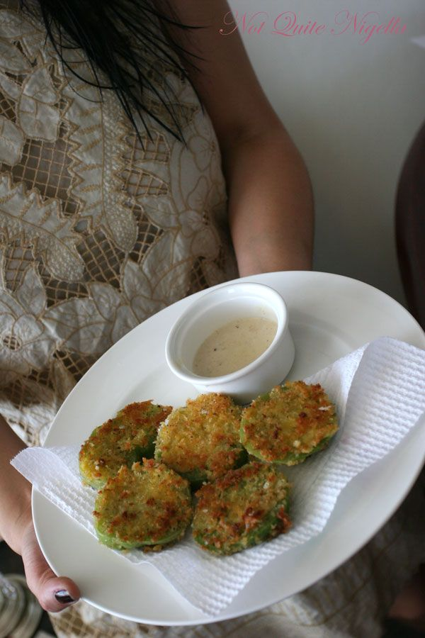 Fried Green Tomatoes with Milk Gravy