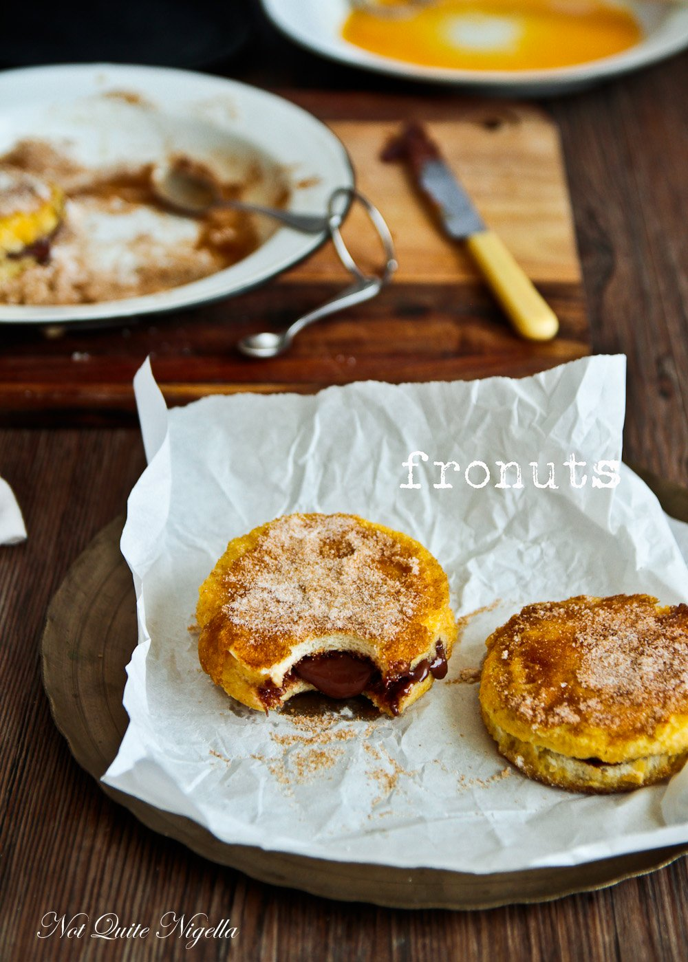 Fronut French toast donut