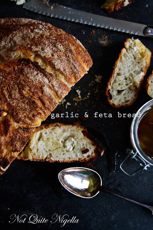 Garlic Feta Bread