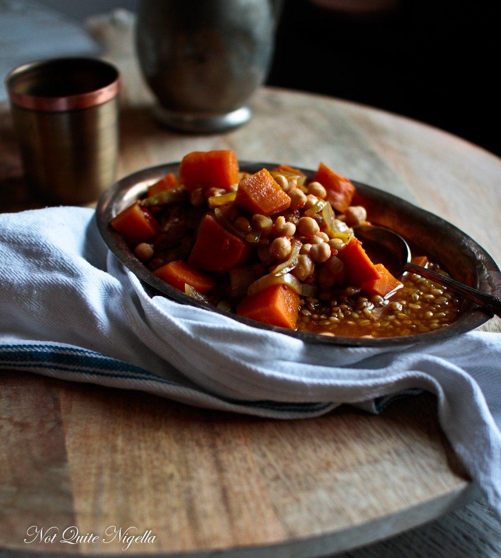 Gaza Chicken Soup Yakhni