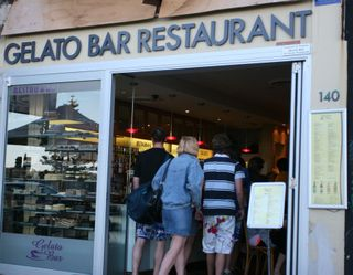 Gelato Bar at Bondi