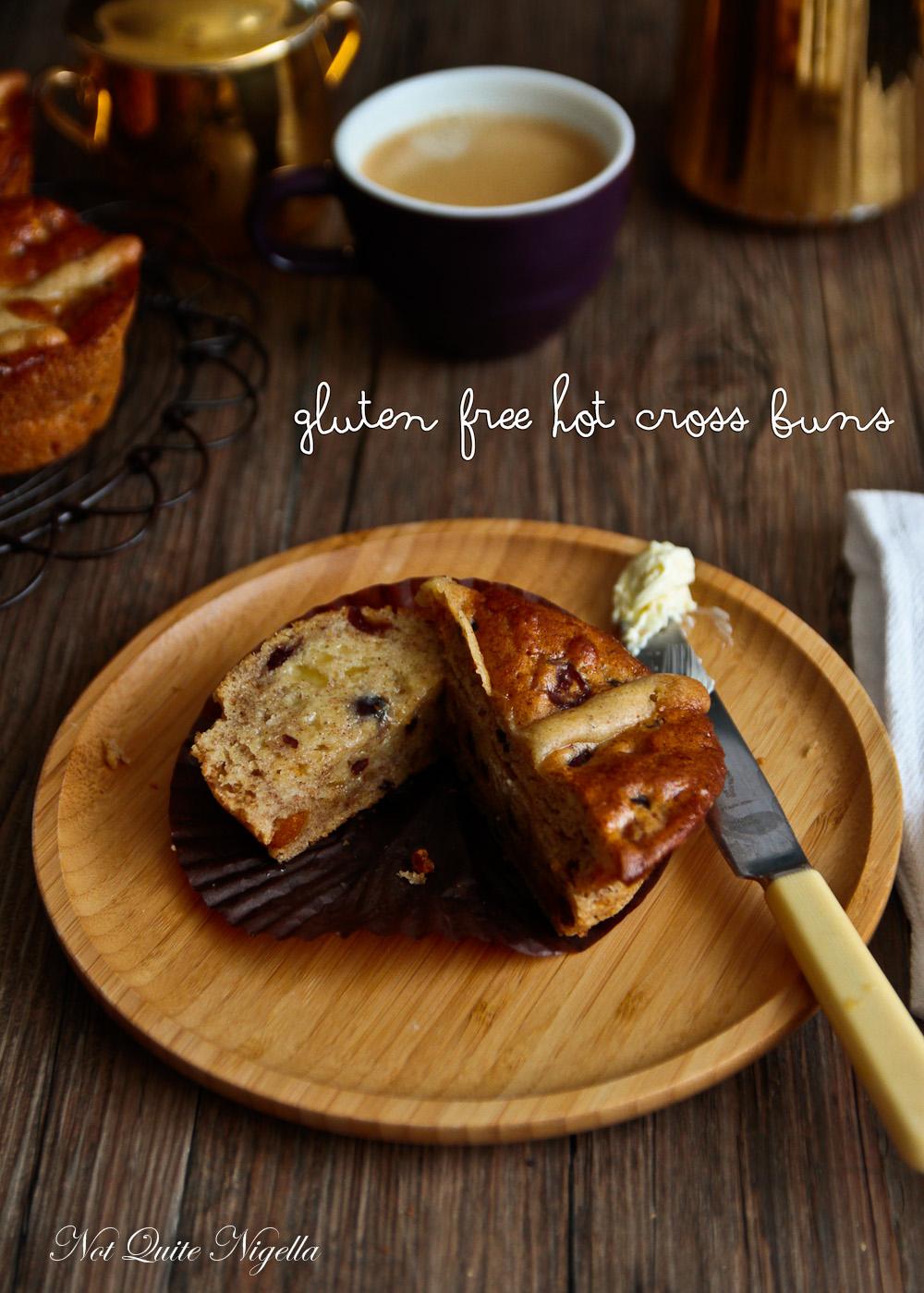 Hot Cross Buns Gluten Free