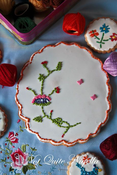 embroidery cookie recipe