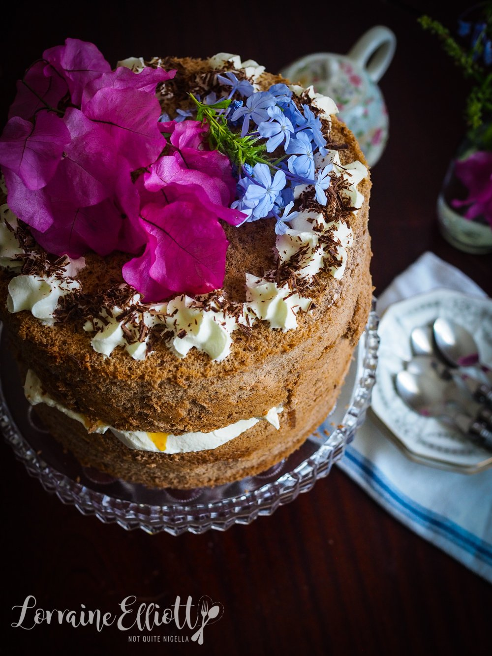 Ginger Fluff Cake Recipe