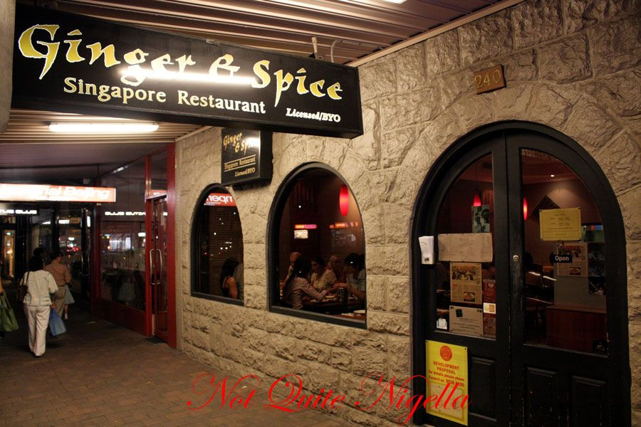 Ginger & Spice, Neutral Bay, for Chinese New Year dinner