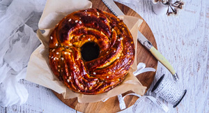 Oh Snap! A Delicious Gingerbread Babka