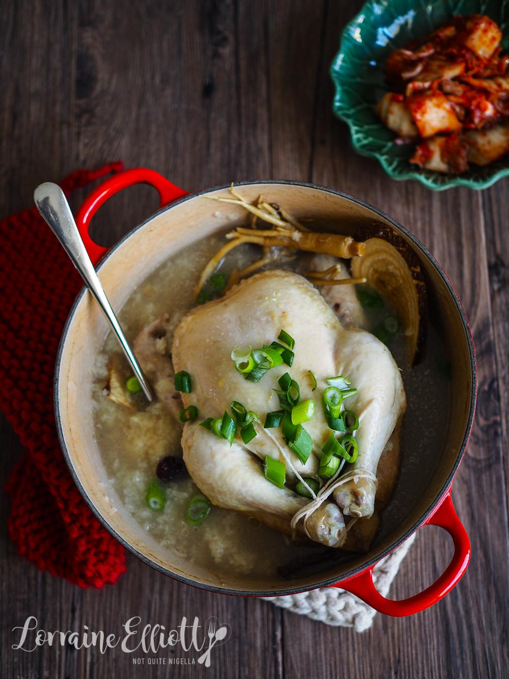 Samgyetang Ginseng Chicken