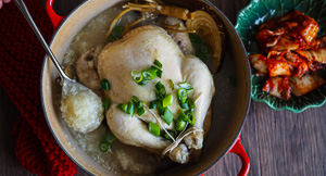 Chicken Soup For The Soul - Ginseng Chicken {Samgyetang}