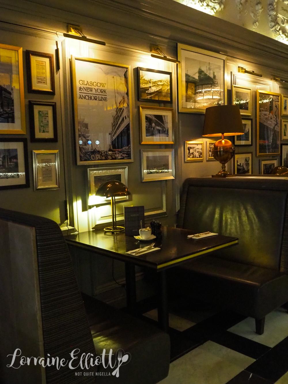 Glasgow City Centre The Anchor Line Cafe