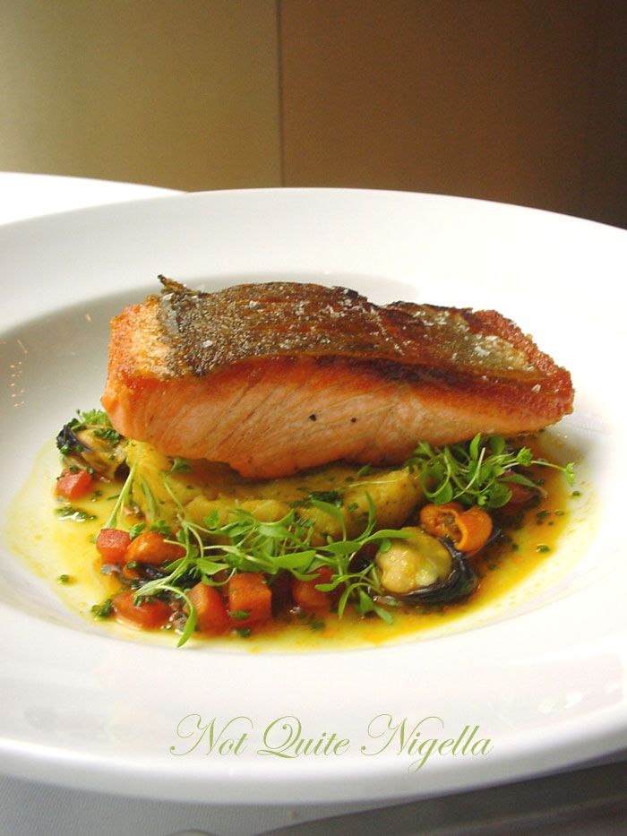 Glass Brasserie at the Hilton, Sydney Ocean trout main