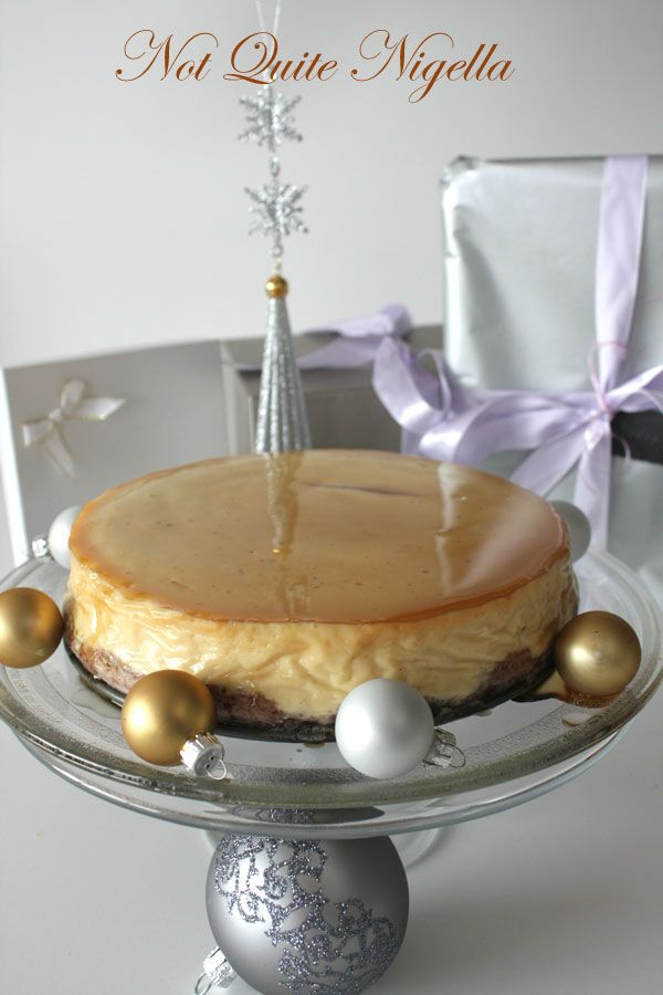 Gleaming Maple Cheesecake